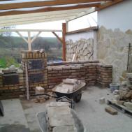 Rekonstrukce krumvíř - během rekonstrukce.