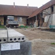 Rekonstrukce krumvíř - před.