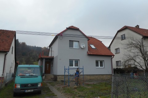 Nová fasáda a zateplování RD Návojná – Dokončeno