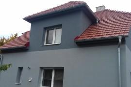 Dokončená rekonstrukce střechy, fasády a komínů RD Polešovice