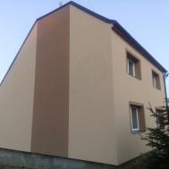 Vážany 2017 rekonstrukce fasády - zateplení EPS 160 mm